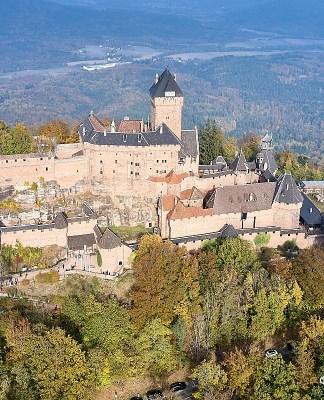 Замок Кенигсбург Эльзас