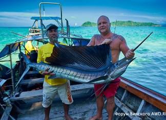 Рыбалка на Ко Липе