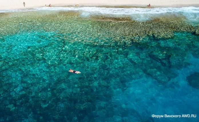 Пляж Петани Кефалония