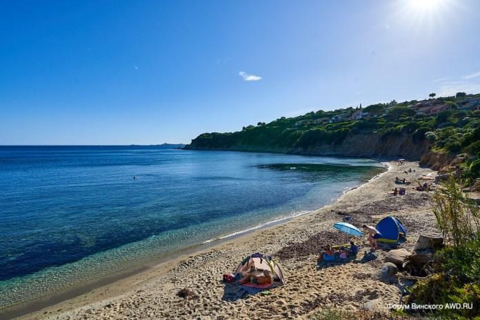 Пляж Порто Луна Сардиния
