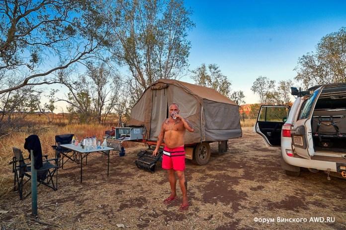 Кемпинги и стоянки в Австралии