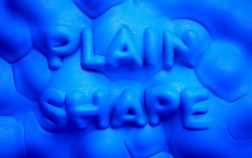 Трехмерная типографика Бенуа Шаллана-Sculpt_PlainShape2_2013-06-20