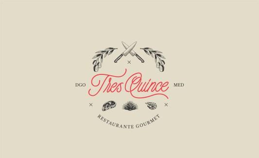 Фирменный стиль ресторана Тре Квинс