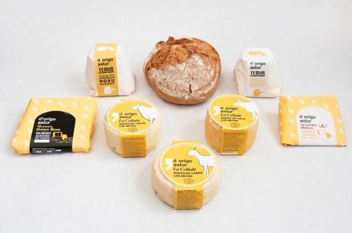 1. Упаковка премиум-продуктов бренда D'origo Astur Gourmet