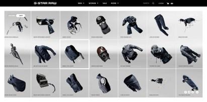 g-star-raw-website-design