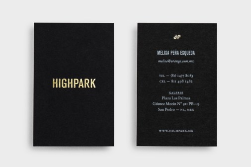 20-Highpark-Gold-Foil-Black-Business-Cards-Face-BPO1