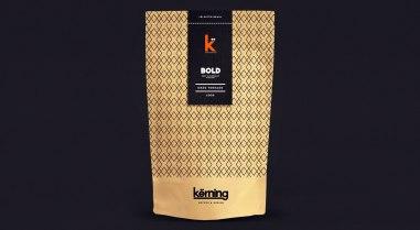 Фирменный стиль и упаковка кофе Кёрнинг