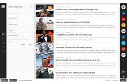 Концепт редизайна Гугл-новостей