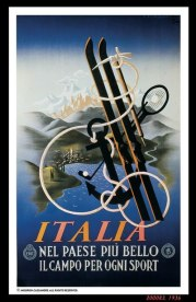 Постеры французского художника и шрифтовика А.М. Кассандра (1901 — 1968)