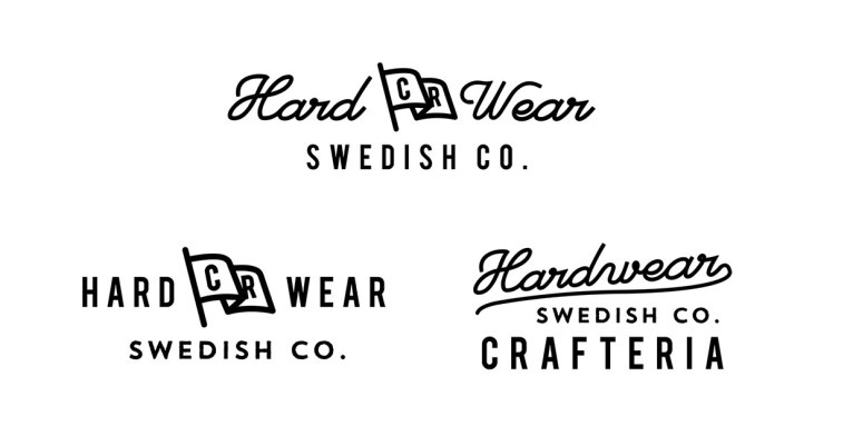 Винтажные логотипы молодого норвежца Йоргена Гротдала