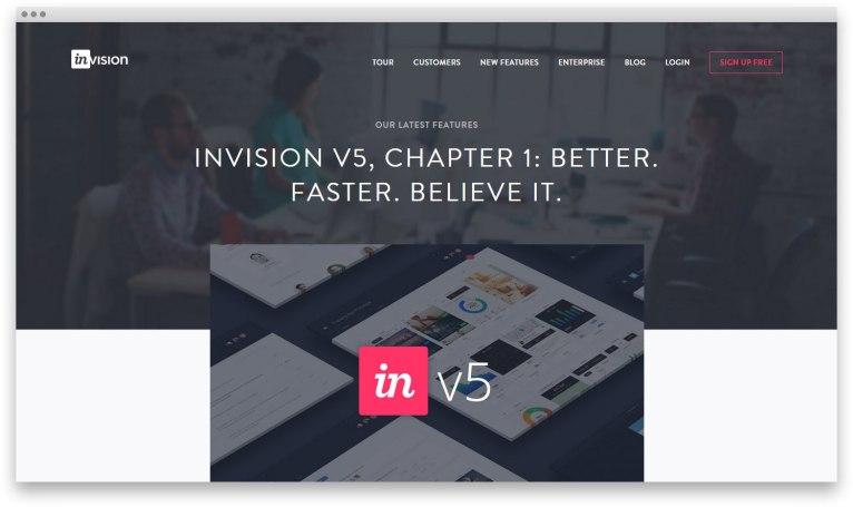 InVision 5.0