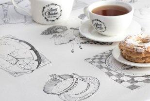Фирменный стиль и упаковка для кафе и пекарни Луи Шарден (Ереван)