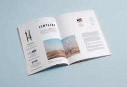 Презентационный буклет компании Орехпром, который сделали в питерской студии Кус-кус (QUS QUS).