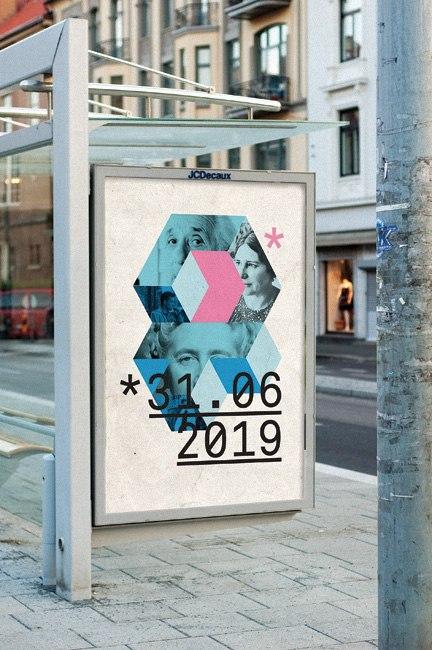 Айдентика, постеры и печатные материалы библиотелки в Осло, которая решила стать самой современной и функциональной библиотекой в Европе.