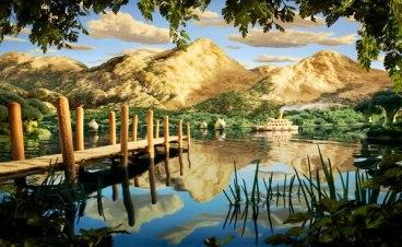 Молочные реки и кисельные берега — младенческий лепет по сравнению с этими иллюстрациями Карла Уорнера.