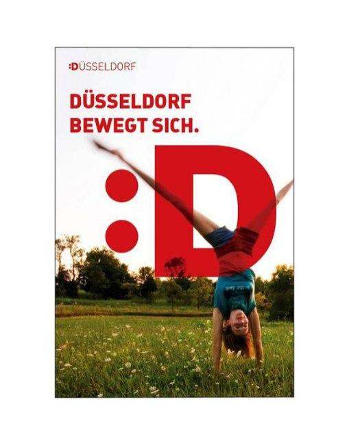 Новый логотип города Дюссельдорф