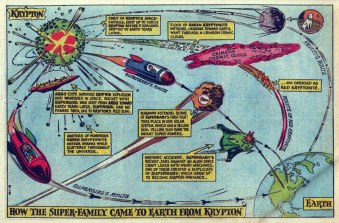 Коллекция карт и схем из комиксов (>100) — comicbookcartography.posthaven.com