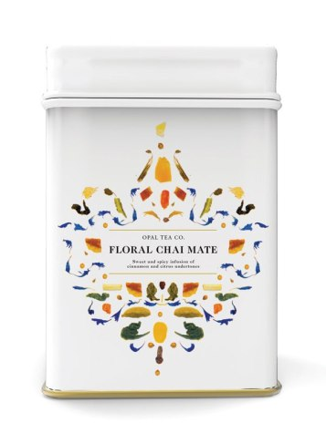 Крутая упаковка для чая. Жаль, что это просто студенческий концепт.