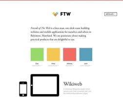 10 отличных минималистских сайтов.