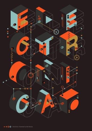 8 свежих крутых плакатов с Баубаухауса