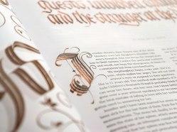 Леттеринг и каллиграфия замечательного бразильца Джексона Алвиса