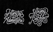 Летеринг-эмблемы Мистера Дудла из Индонезии