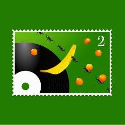 Дизайнер Леша Ивановский ведет дневник в виде инстаграма с воображаемыми почтовыми марками.
