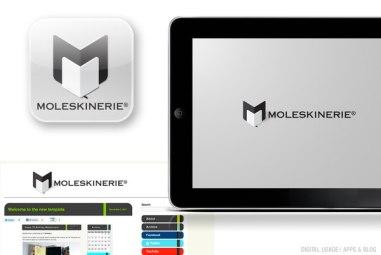 Вариант логотипа Молескина