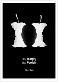 Малайзийский иллюстратор Танг Яу Хунг (Tang Yau Hoong) создал серию плакатов, иллюстрирующих известные цитаты великих людей.