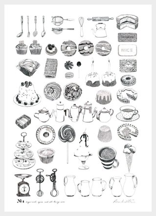 Плакаты иллюстратора из Лондона Рос Шайрс