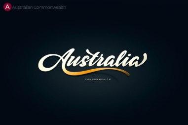 Леттеринг-логотипы стран