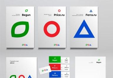 Редизайн логотипа и сайта Begun.ru