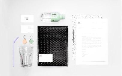 Стиль и упаковка ароматизированной газировки «Доза» (DOSE)