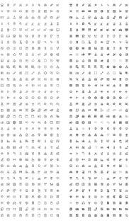350 бесплатных «материальных» иконок из набора Nova