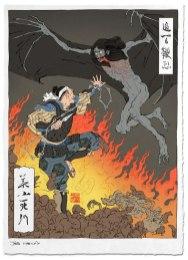 Nintendo Woodblock prints — Ukiyoe Heroes