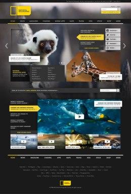 Ребрендинг National Geographic. Дизайнер Джастин Маримон.