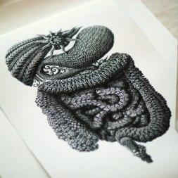 Супер-детализированные иллюстрации Алекса Конахина из Латвии