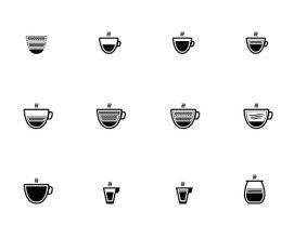 50 бесплатных иконок на тему кофе (eps, png, svg)