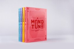 Дизайн серии книг «Монотон» (Monotone) для издательства «Викшинери» (viction:ary)