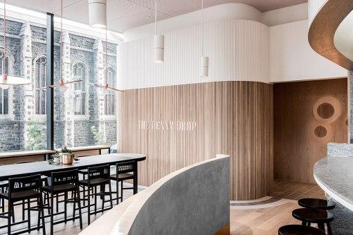 Фирменный стиль мельбурнского кафе The Penny Drop