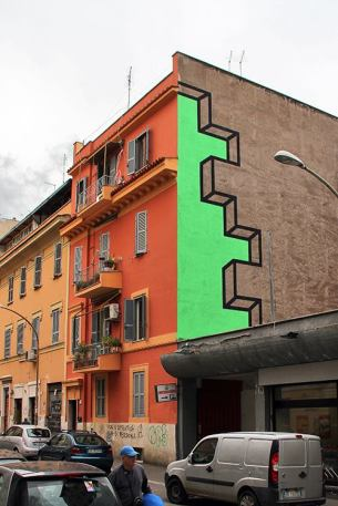 Шикарный трехмерный стрит-арт создает Аакаш Никалани из Нью-Йорка