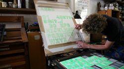 Ребята из лондонской шрифтовой студии A2-Type напечатали литеры для высокой печати на 3D-принтере