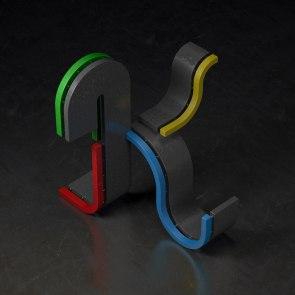 Трехмерная типографика Виктора Бреганте (Victor Bregante) из Барселоны