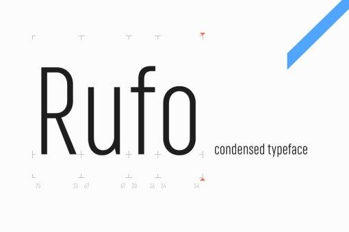 Новый гротеск «Руфо» с кириллицей