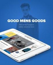 Интернет-магазин Good Mens Goods.