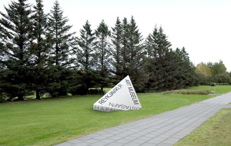 Обновленный логотип и стиль Музея искусств Рейкьявика (Listasafn Reykjavíkur)