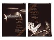 Фирменный стиль Клауса Болера — бренда качественных и дорогих мужских сорочек