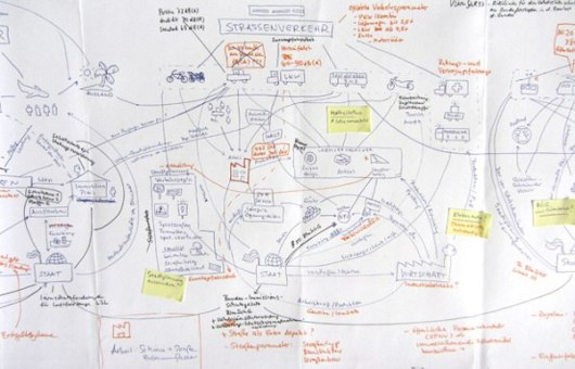 Инфографика из бумаги