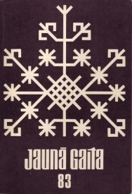 """Обложки латвийского журнала """"Jauna Gaita"""""""