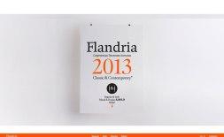 Шрифт Фландрия и его сайт